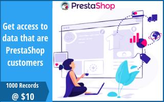 Prestashop User List