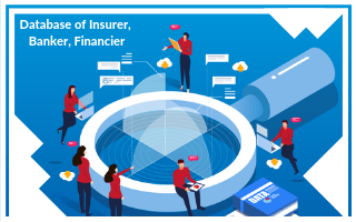 database of insurer, banker