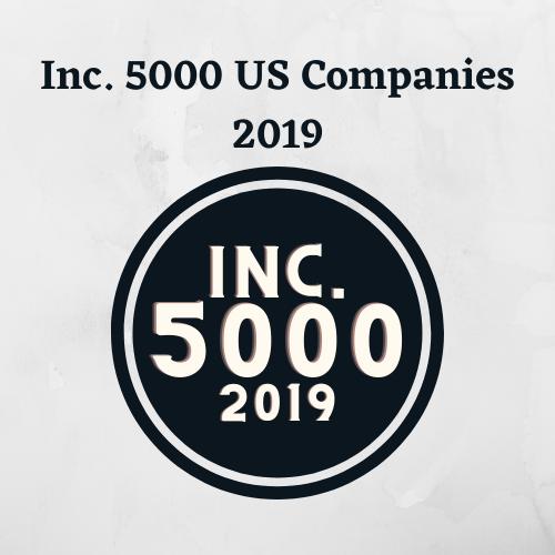 Inc. 5000 list 2019