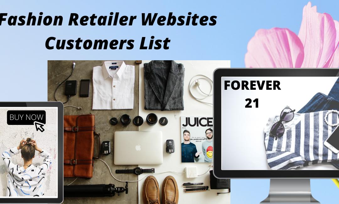 Get Fashion Retailers Customer List