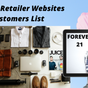 Fashion Retailers Customer List