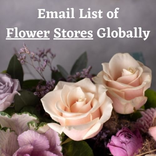 Email List of Flower Stores