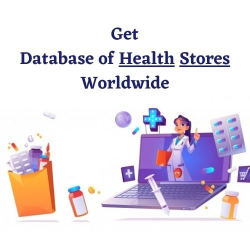 Health Stores Email list