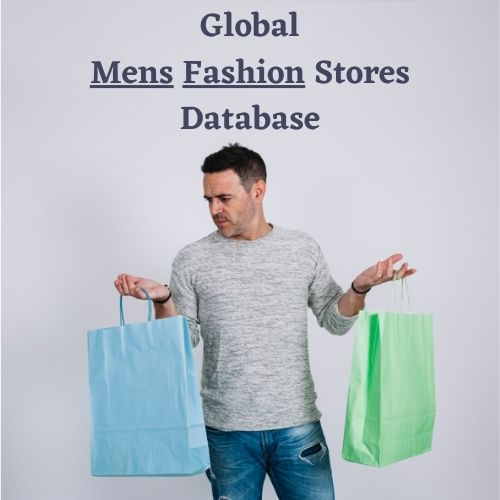 Global Men's Fashion Stores Email List