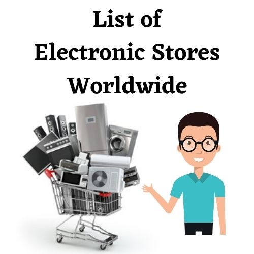 Electronic Stores Email List