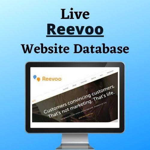 Reevoo websites Users List.