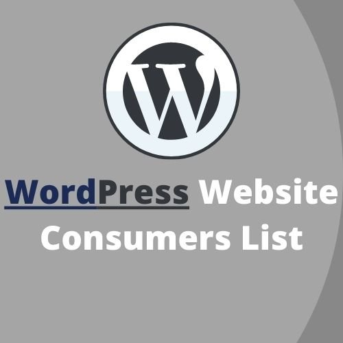 WordPress Website Users List