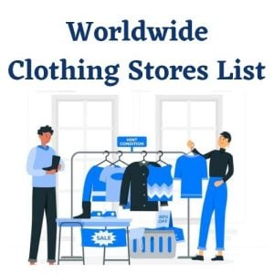 Clothing Stores Email List