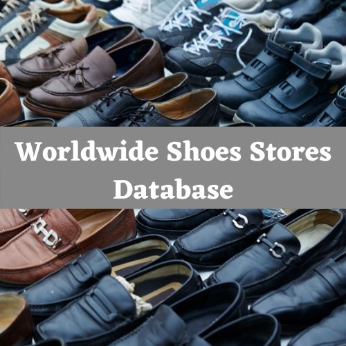 Shoes Stores Email list