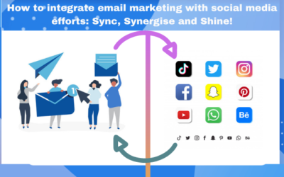 How to integrate email marketing with social media efforts: Sync, Synergise and Shine!