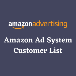 Amazon Ad System Customer