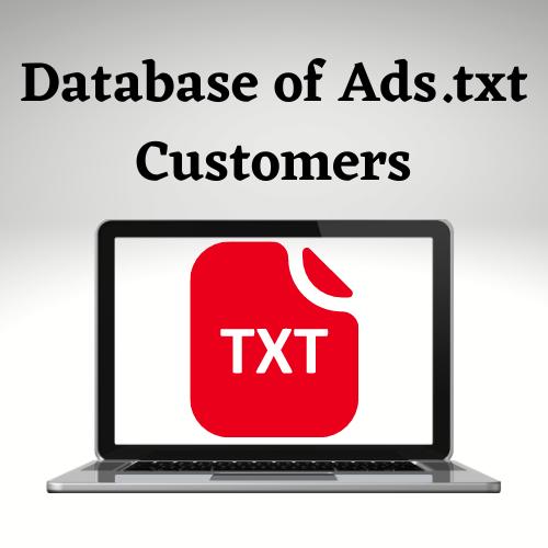 Ads.txt Customers List