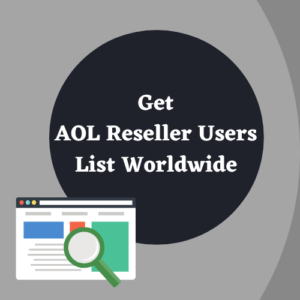 AOL Reseller Users list