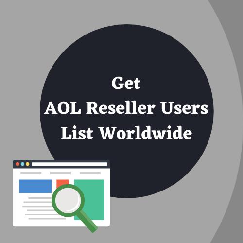AOL Reseller Users list