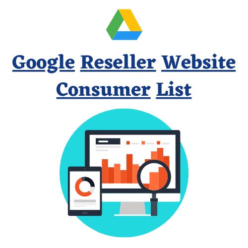 Google Reseller Website