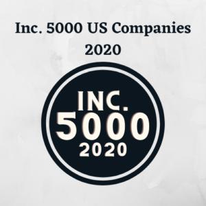 Inc. 5000 US Companies 2020