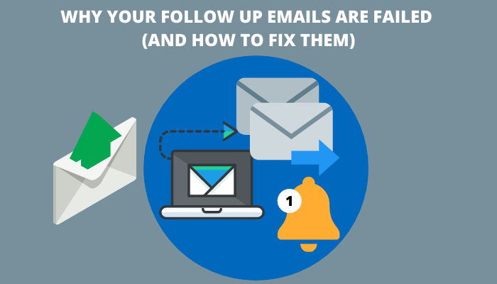 WHY YOUR FOLLOW UP EMAILS ARE FAILED (AND HOW TO FIX THEM)